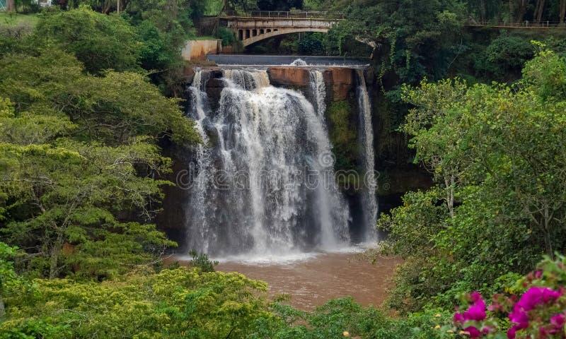 Chania Falls in Thika Kenya Africa. Chania Falls in Thika Kenya , Africa stock photography