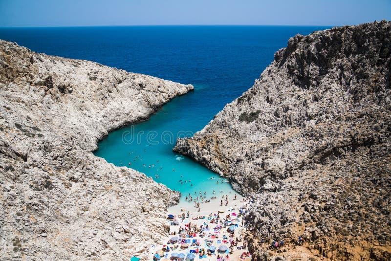 Chania, Grecia fotos de archivo