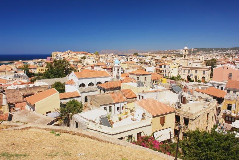 Chania, Kreta stock afbeeldingen