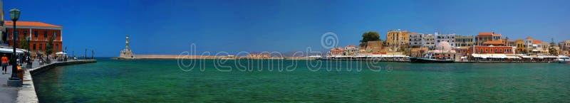 Chania/Kreta/Griekenland stock afbeeldingen