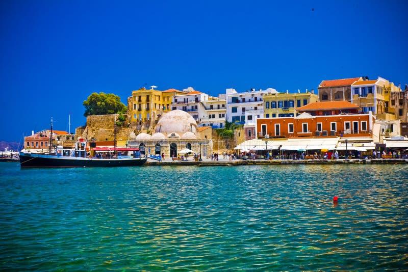 Chania/Kreta/Griekenland stock fotografie