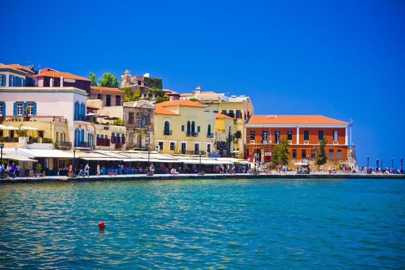 Chania/Kreta/Griekenland stock foto's