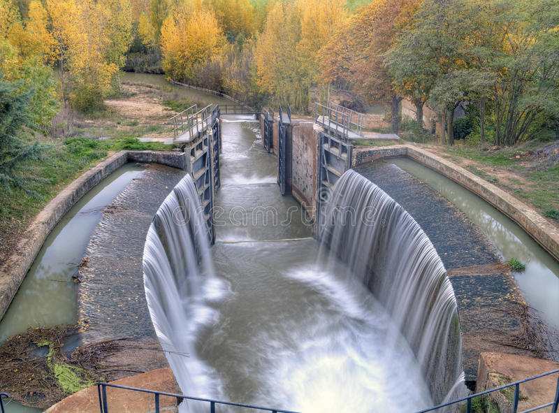 Download Channel of Castile stock image. Image of waterfall, water - 21268647