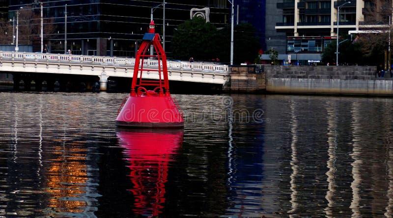 Channel Marker Yarra River. Melbourne. Free Public Domain Cc0 Image