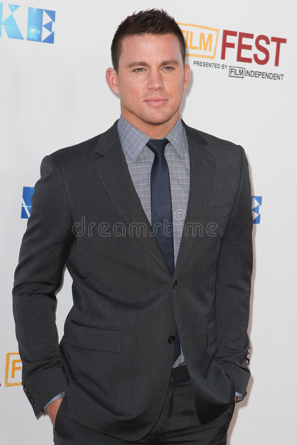 Channing Tatum royaltyfria foton