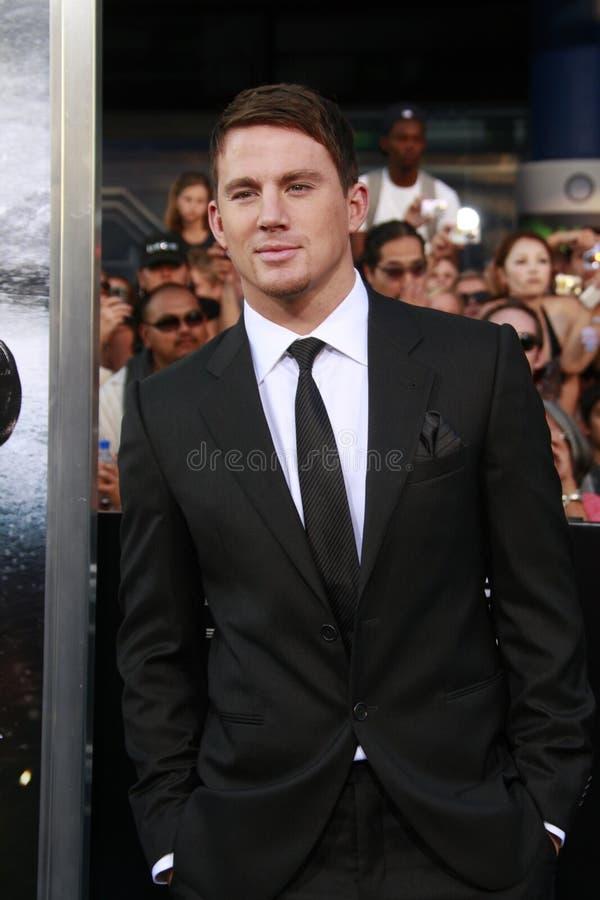 Channing Tatum zdjęcia royalty free