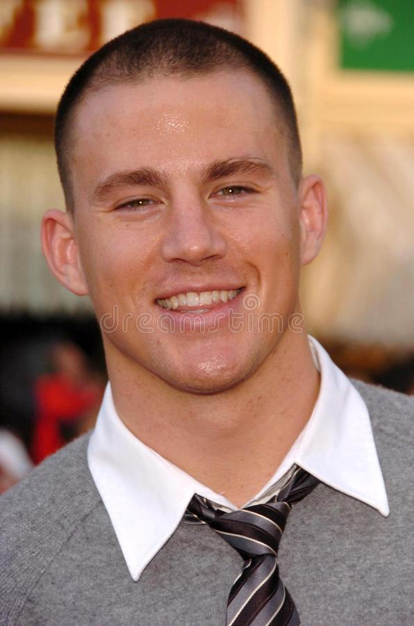 Channing Tatum. At the premiere of Disney's 'Pirates of the Caribbean: Dead Man's Chest'. Disneyland, Anaheim, CA. 06-24-06 stock image