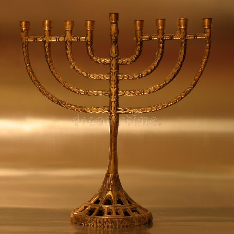 Chanoeka menorah royalty-vrije illustratie