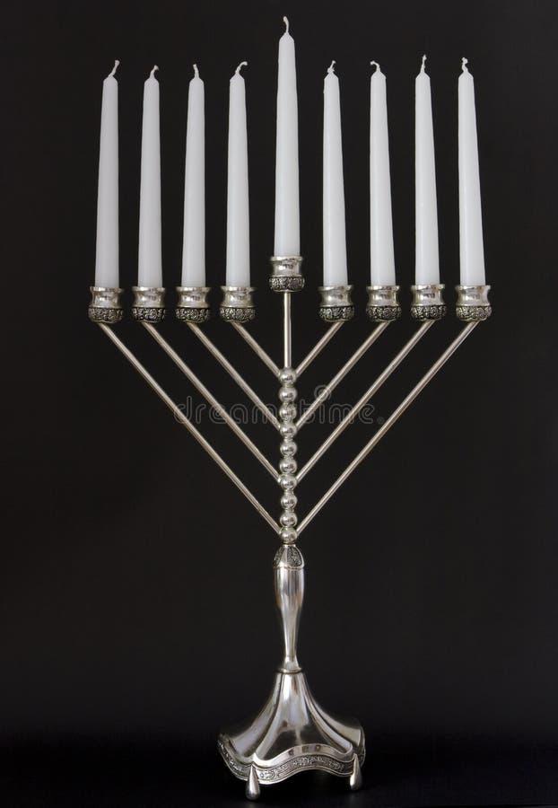 Chanoeka menorah royalty-vrije stock foto