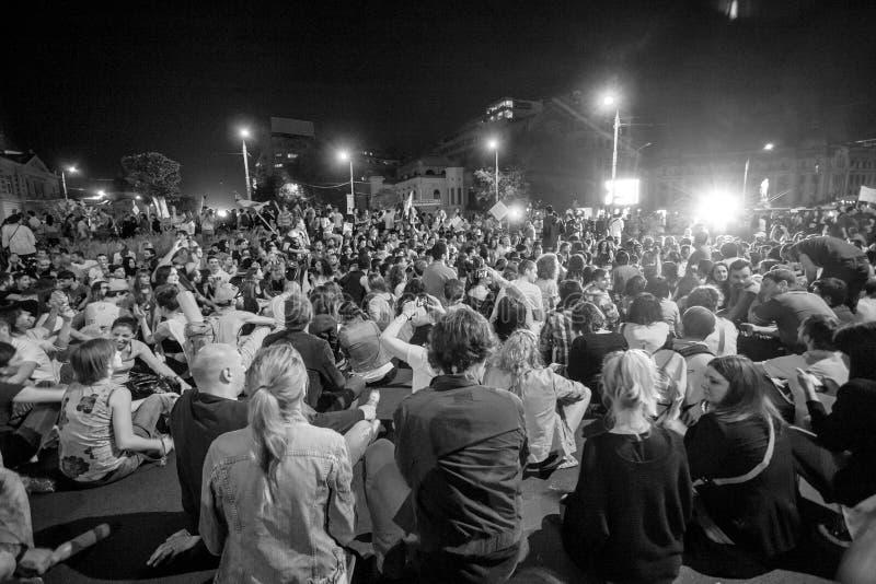 Chant au milieu photographie stock libre de droits