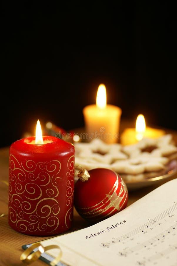 Chant de Noël images stock