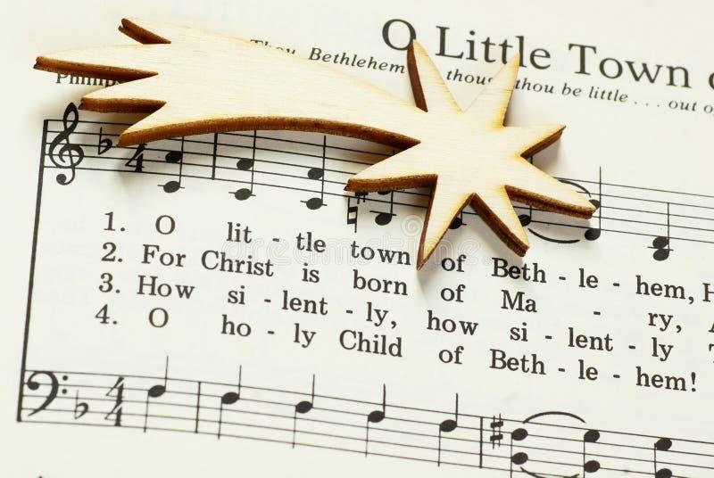 Chant de Noël image libre de droits