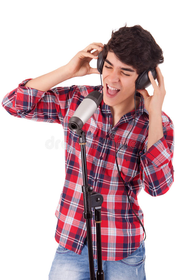 Chanteur image stock