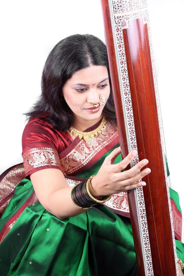 Chanteur classique traditionnel image stock
