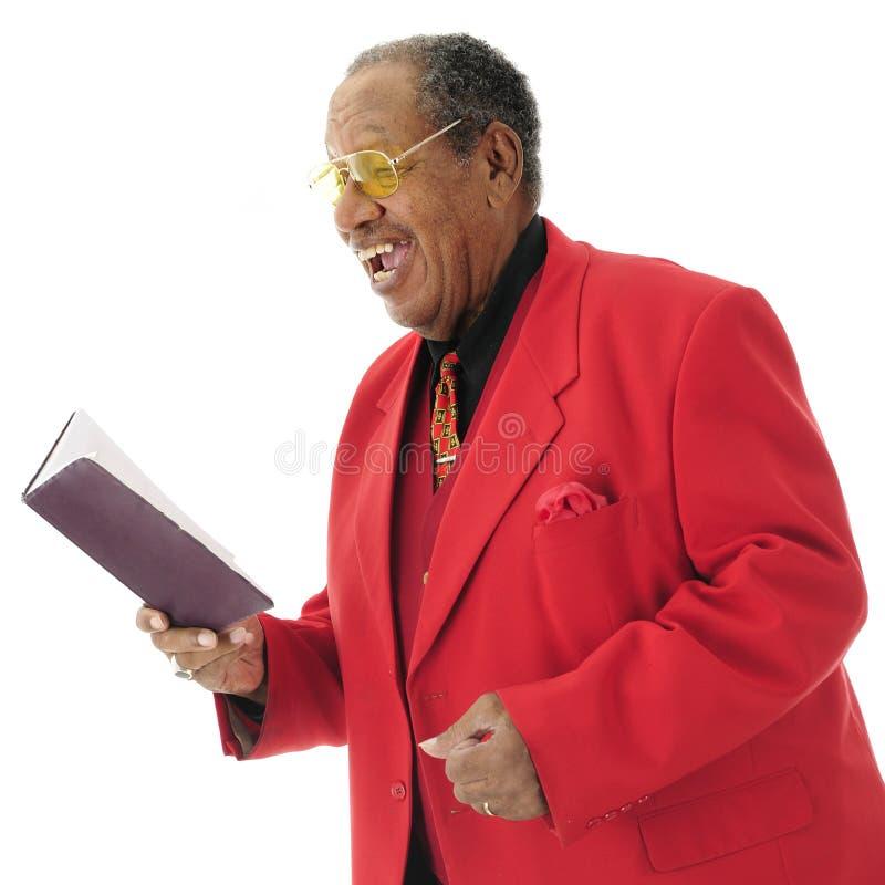 Chanteur d'église photographie stock libre de droits