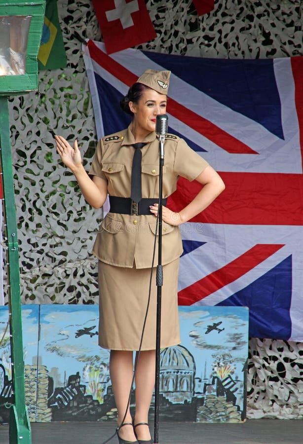 Chanteur 1940 d'hommage de soeurs d'Andrew photographie stock libre de droits
