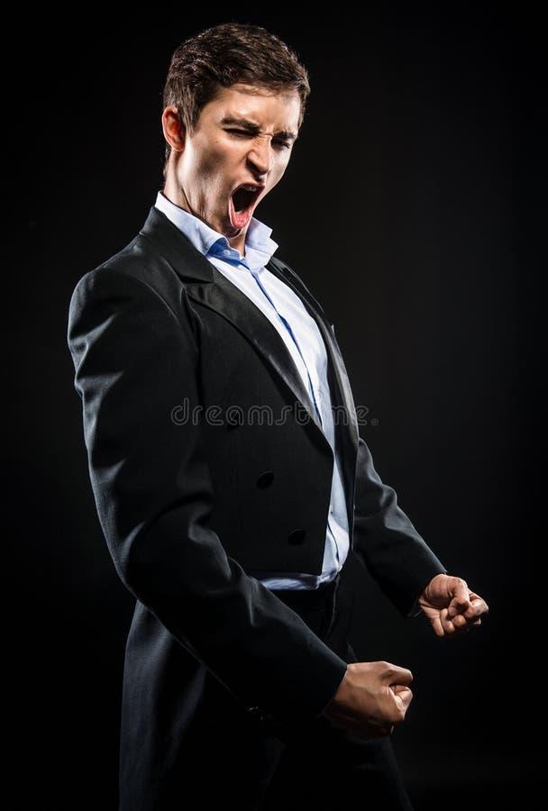 Chanteur d'opéra photo libre de droits