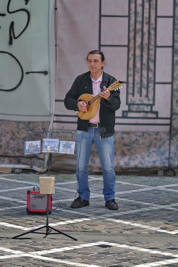 Chanteur de rue photos libres de droits