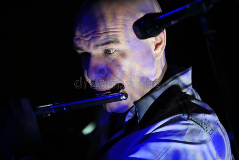 Chanteur et musicien russes Sergey Mazaev photo libre de droits