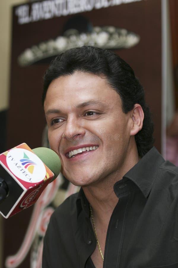 Chanteur Pedro Fernandez de MEXICO photo stock