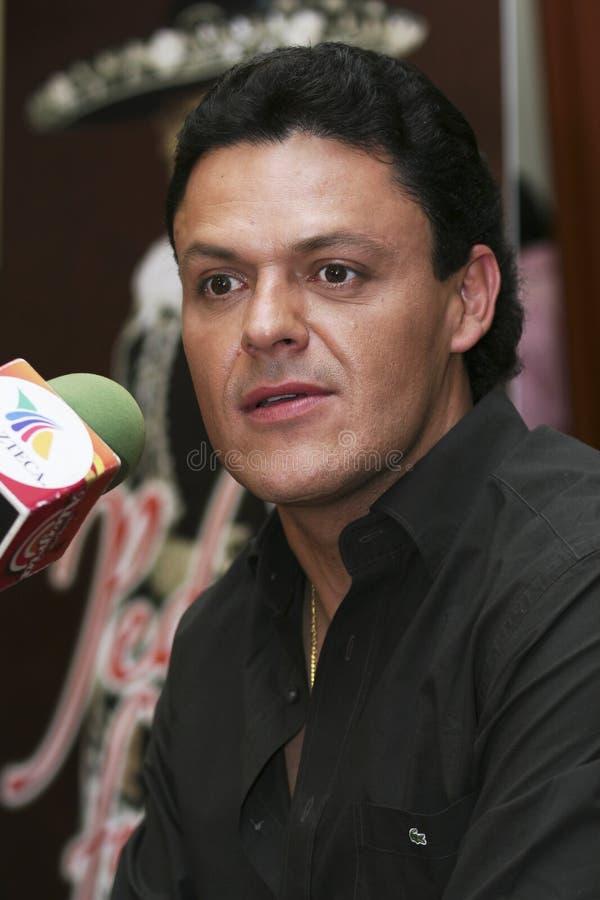 Chanteur Pedro Fernandez de MEXICO photos libres de droits