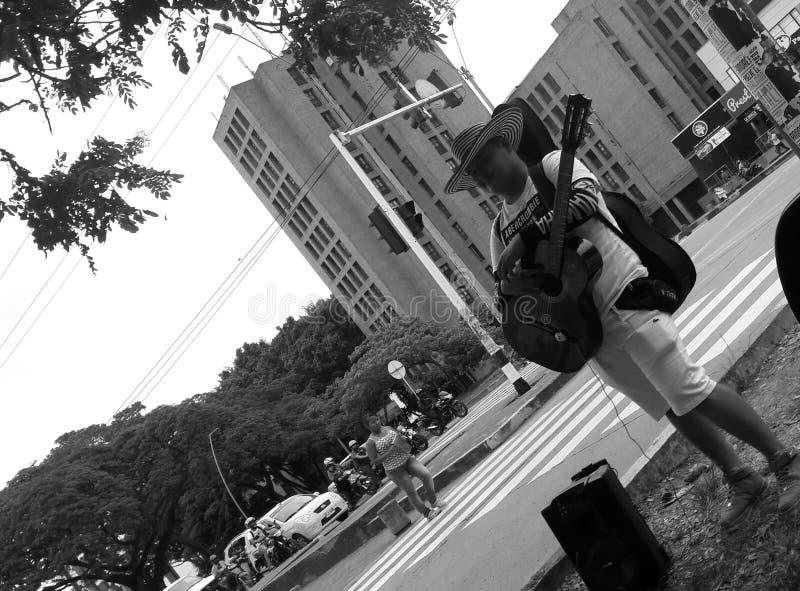 Chanteur rêveur photo stock