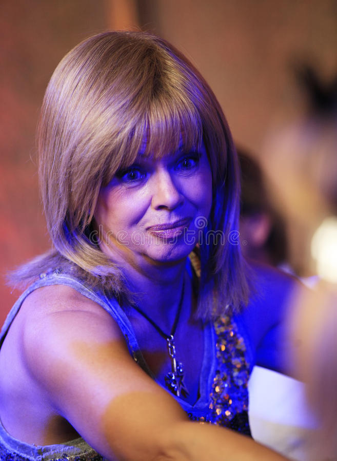 Chanteur russe Elene Presnyakova photos stock