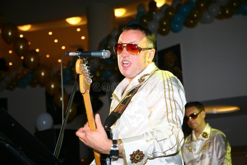 Chanteur Shakin Spirit d'Andrey Yakushin photographie stock