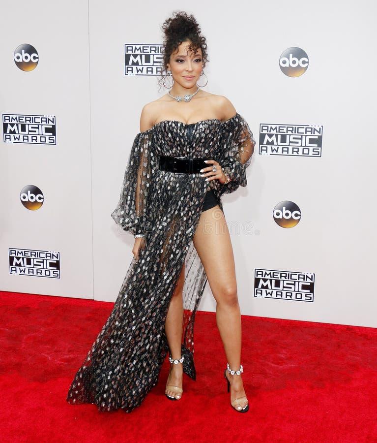 Chanteur Tinashe image libre de droits
