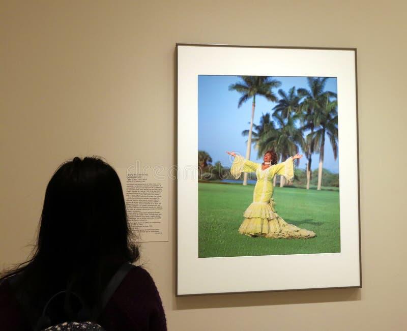 Chanteuse, Celia Cruz À La National Portrait Gallery images stock
