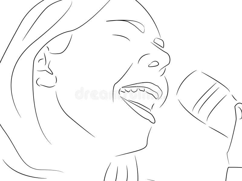 Chantez Une Chanson Photographie stock libre de droits