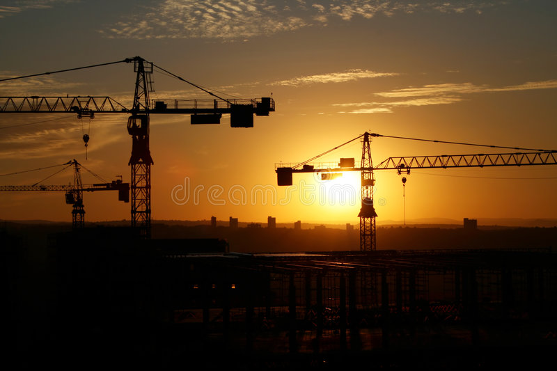 Chantier 6 image stock
