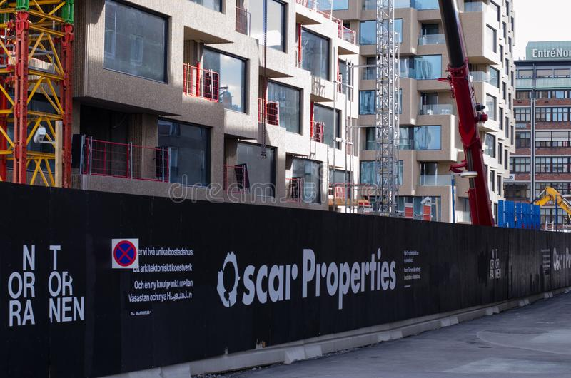 Chantier d'Oscar Properties images stock