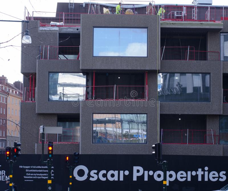 Chantier d'Oscar Properties photos libres de droits