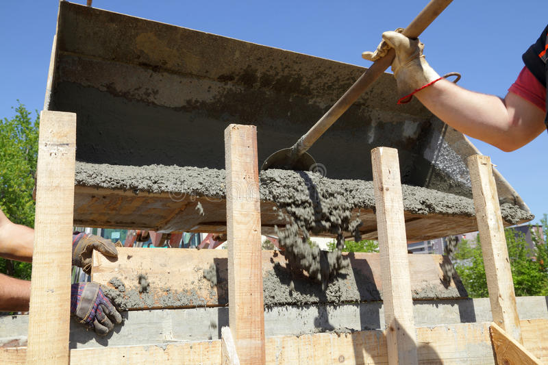 Chantier de construction image libre de droits