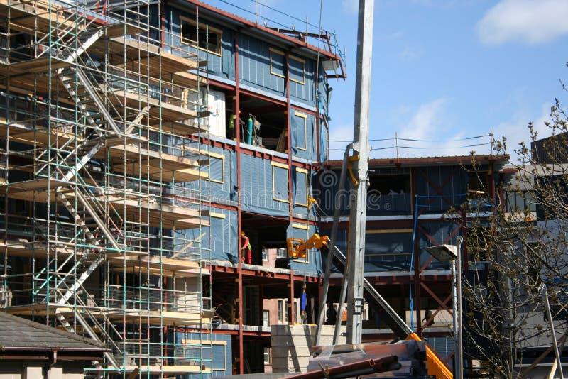 Download Chantier de construction image stock. Image du ouvriers - 728947