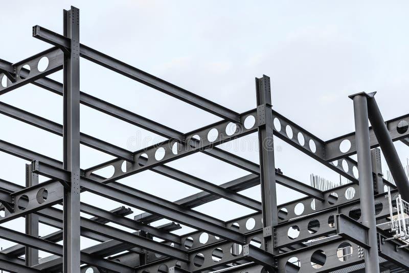 Chantier de construction de la construction moderne image stock