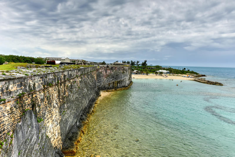 Chantier de construction navale royal de marine - Bermudes images libres de droits