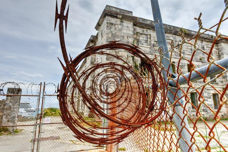 Chantier de construction navale royal de marine - Bermudes image stock