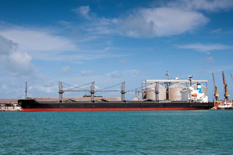 Chantier naval du Brésil de pétrolier photos stock