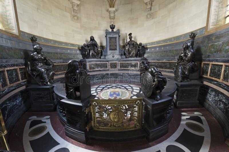 Chantilly-Kapelle lizenzfreie stockbilder