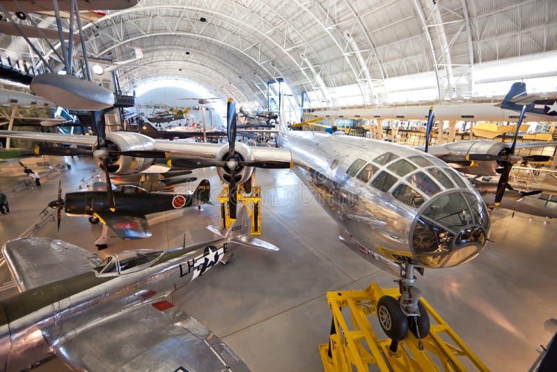 CHANTILLY, VIRGÍNIA - OUTUBRO 10: Boeing B-29 fotos de stock royalty free