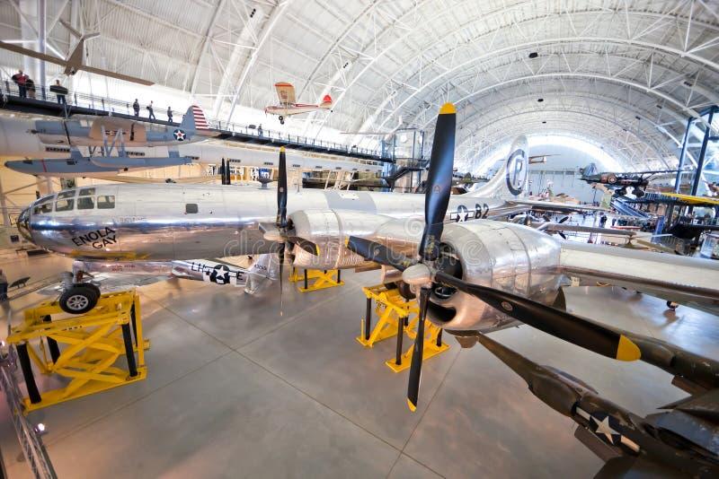 CHANTILLY, VIRGÍNIA - OUTUBRO 10: Boeing B-29 fotografia de stock