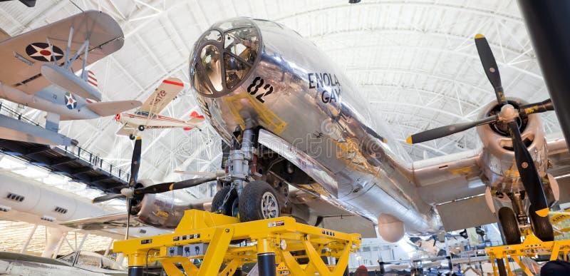 CHANTILLY, VIRGÍNIA - OUTUBRO 10: Boeing B-29 imagem de stock
