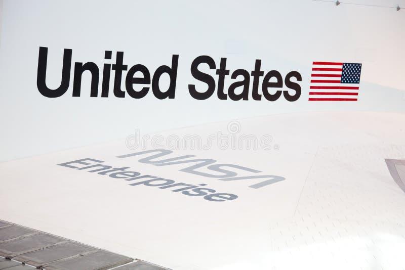 CHANTILLY, VIRGINIA - OCTOBER 10: Enterprise royalty free stock image