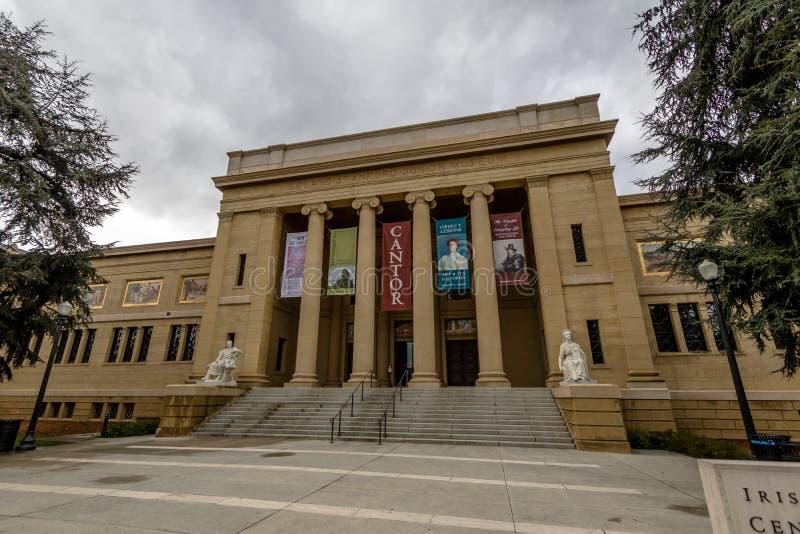 Chantre Center pour le musée d'arts visuels chez Stanford University Campus - Palo Alto, la Californie, Etats-Unis photographie stock