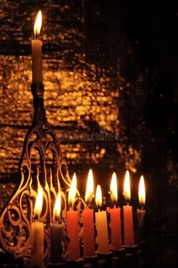 Free Chanuka Candles Stock Image - 3678411