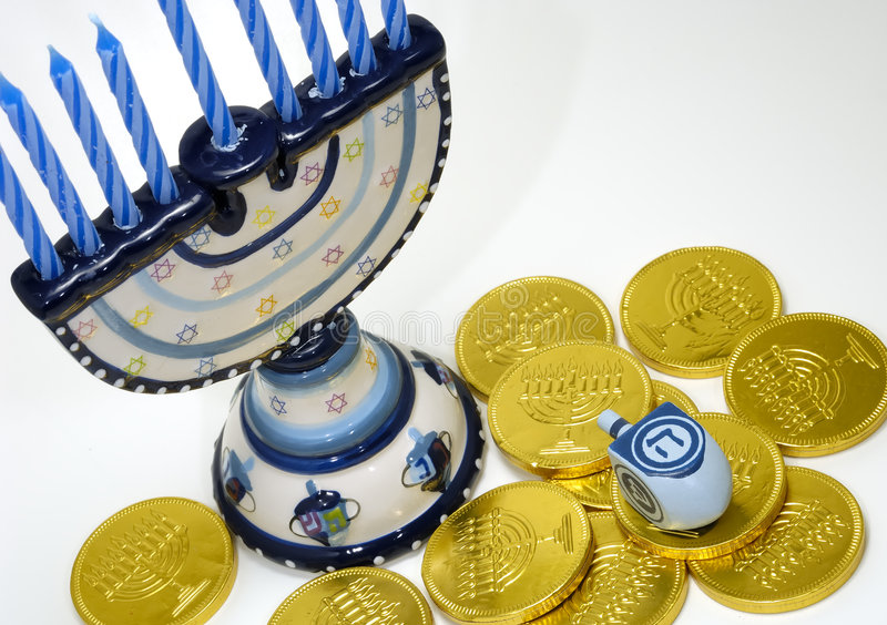 chanukah royaltyfria bilder