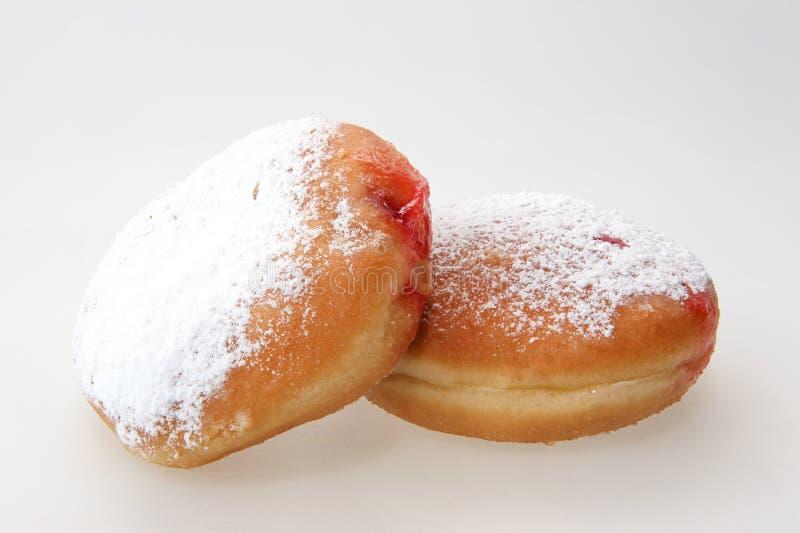 Chanukka-Donut stockfoto
