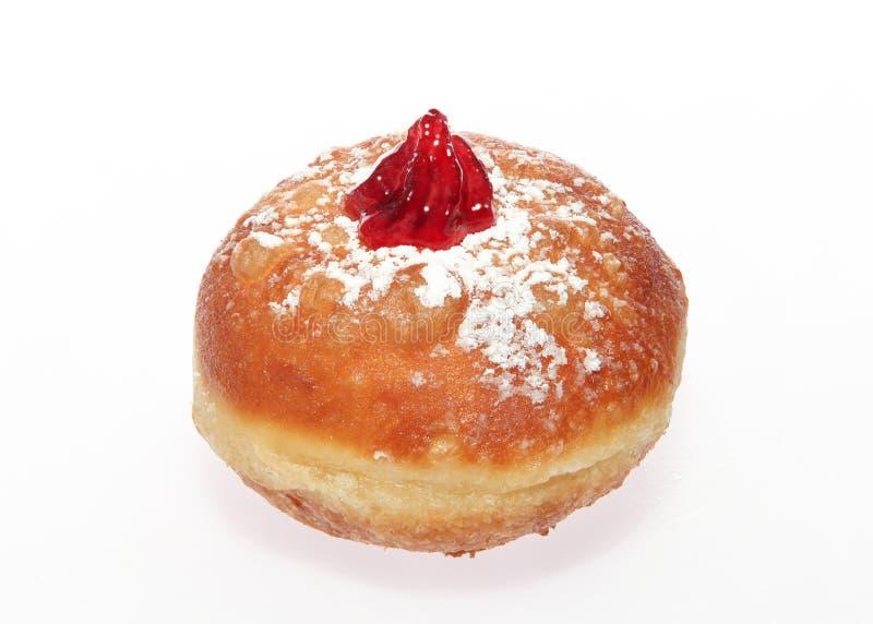 Chanukka-Donut lizenzfreie stockfotos